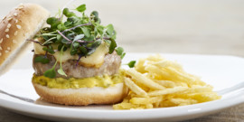 Hamburguesas: de comida rápida a manjar gourmet